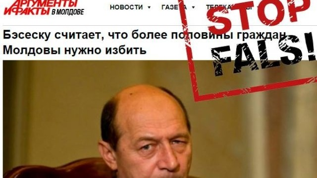 STOP FALS | O declarație trunchiată a lui Traian Băsescu a dezinformat opinia publică
