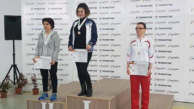 Ecaterina Rotari a câștigat turneul de tir din Iași