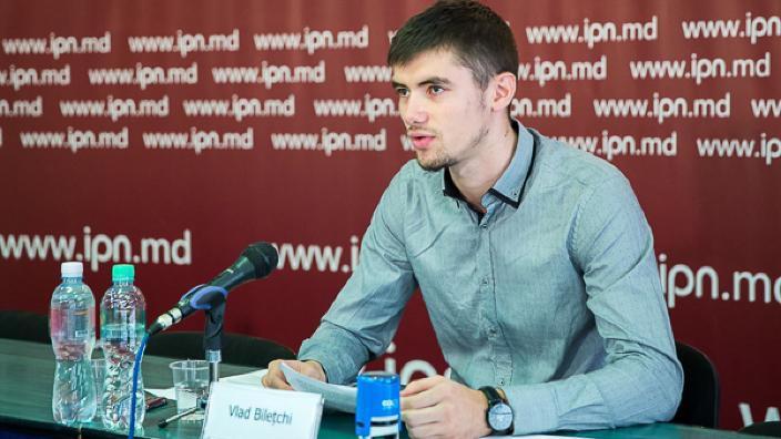 Unionistul Vlad Bilețchi a fost amendat în urma incidentelor care au avut loc la Marșul Centenar