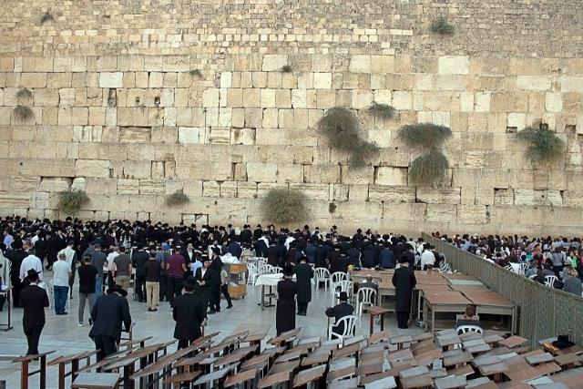 FOTO   Ierusalim: cetatea cucerită de pelerini