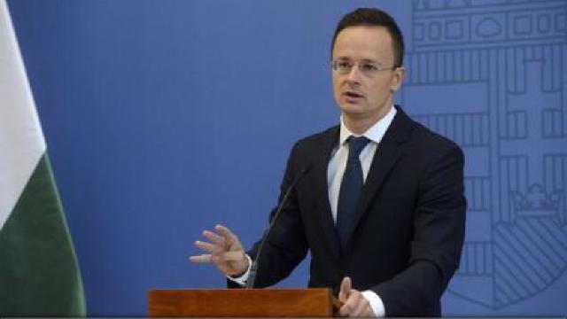 Ministrul ungar de Externe: Ucraina nu și-a îndeplinit obligațiile față de NATO, încălcând grav drepturile minorităților