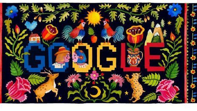 Google sărbătorește Ziua Națională a României printr-un logo special