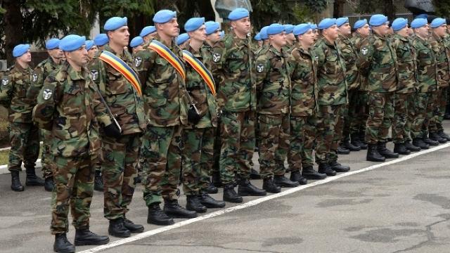 Încă 40 de militari moldoveni pleacă în Kosovo (FOTO)