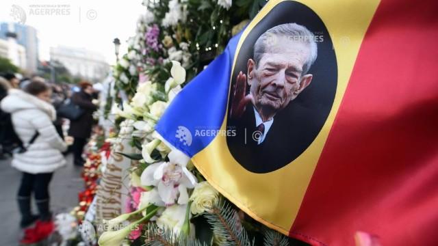 Regele Mihai I al României va fi înmormântat sâmbătă în Noua Catedrală din Curtea de Argeș