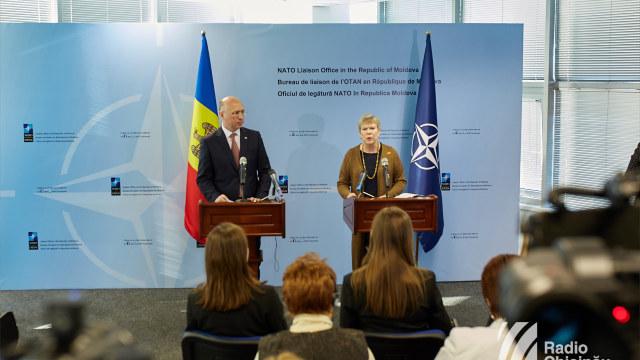 FOTO | Oficiul de legătură al NATO a fost inaugurat la Chișinău