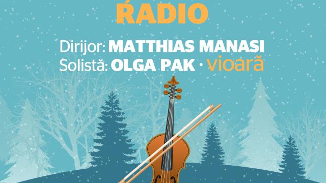 Matthias Manasi, la pupitrul Orchestrei Radio. În repertoriu: Brahms, Mendelssohn și Glinka