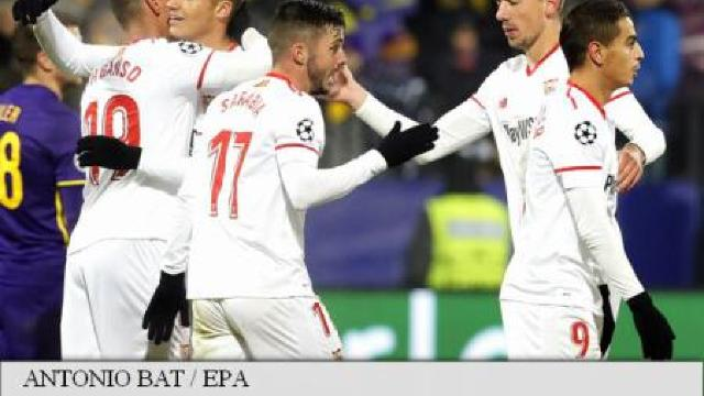 Sevilla, Liverpool, Șahtior Donețk și Porto s-au calificat în optimile Ligii Campionilor