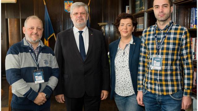 Programul de pregătire profesională a jurnaliştilor de la Radio Chişinău continuă
