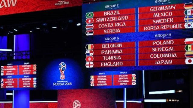S-au stabilit grupele Cupei Mondiale 2018