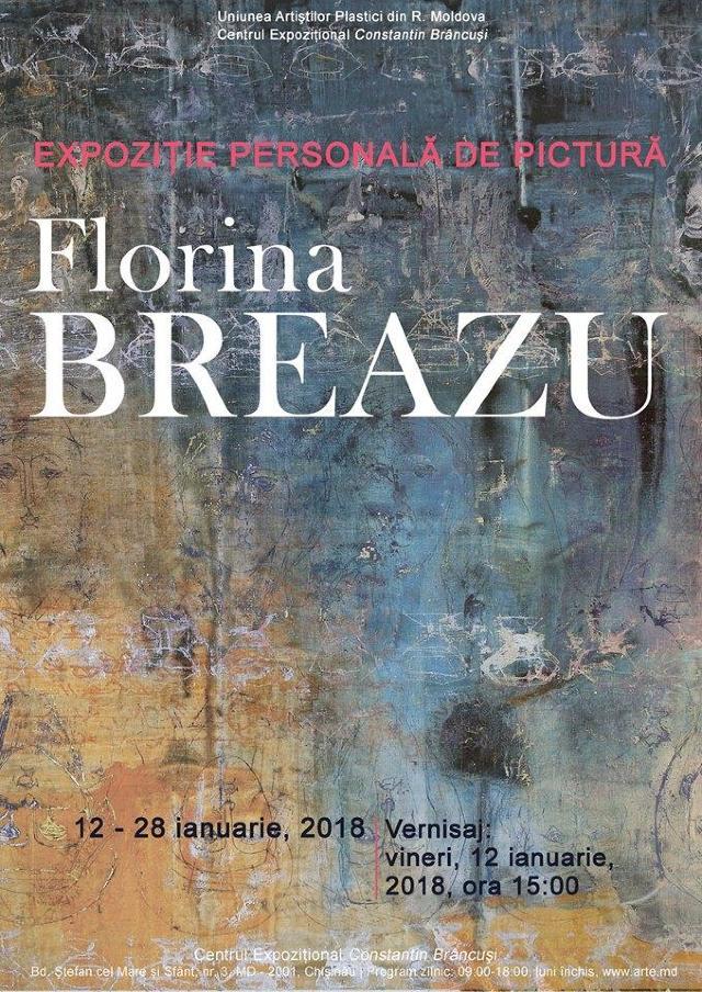 Maluri de Prut | Florina Breazu - artista de pe ambele maluri ale Prutului, ce creează poezie în culori (FOTO)