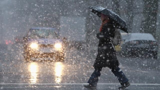 Avertizare METEO | Cod Galben de schimbare bruscă a vremii. Ploi puternice și lapoviță