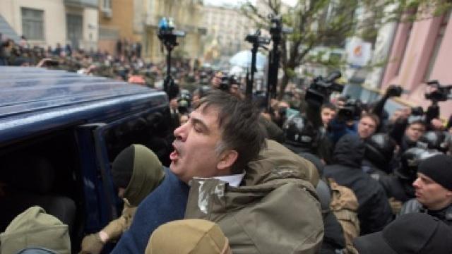 Mihail Saakaşvili renunţă la ideea de a relua protestele în capitala Ucrainei
