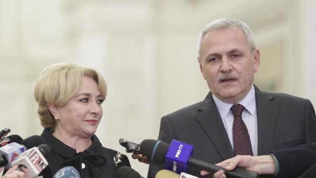Premierul desemnat al României, Viorica Dăncilă, a prezentat lista noului Guvernde la București