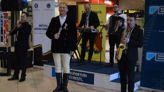Eveniment muzical deosebit pe Aeroportul Internațional Henri Coandă din București (FOTO)