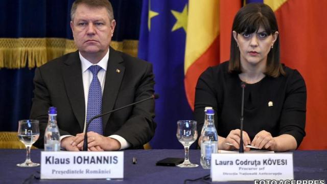 Preşedintele României a respins cererea ministrului Justiţiei privind revocarea Laurei Codruța Kovesi