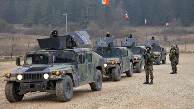 Republica Moldova trimite trupe şi echipamente pentru exerciţii militare în România (VIDEO)