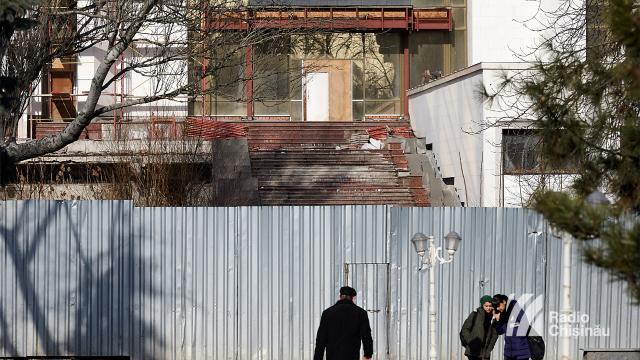 Igor Dodon va participa la inaugurarea lucrărilor de reparație a sediului Președinției (FOTO)