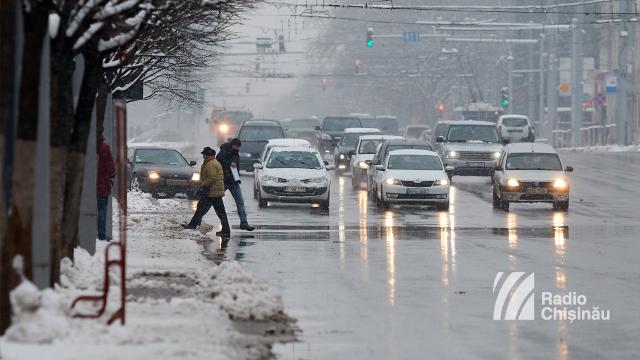 Trafic suspendat până la ora 16:00, pe o stradă din Capitală