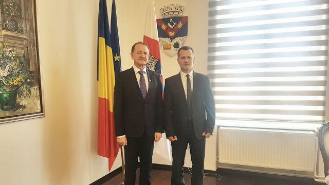 Primarii de la Comrat și Turda au demarat procedurile de înfrățire a celor două localități