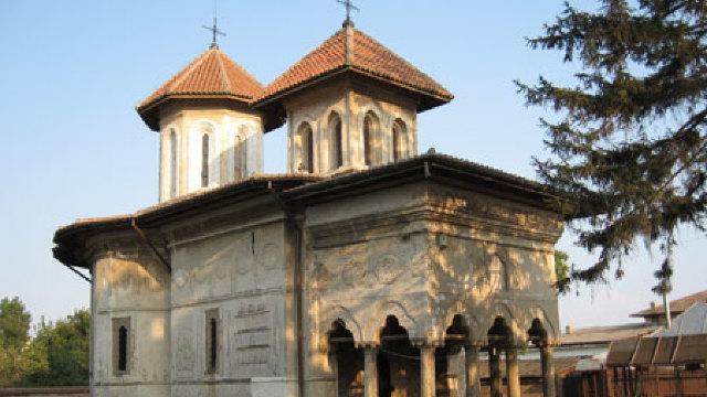 """Influențe persane în """"barocul cantacuzin"""". Biserica Sfântului Eftimie cel Mare"""