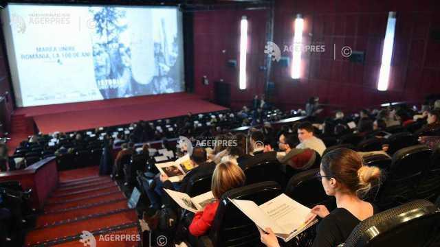 """Documentarul """"Marea Unire - România, la 100 de ani"""", proiectat în premieră, în prezenţa Custodelui Coroanei, Margareta"""