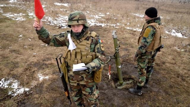 FOTO | Militarii Batalionului 22 au executat trageri de luptă la Bulboaca