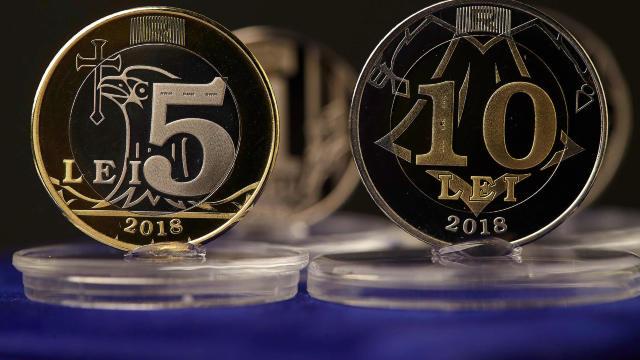 FOTO   BNM pune în circulație monede metalice cu valoare de unu, doi, cinci și zece lei. R.Moldova a depășit criza economică, susțin autoritățile