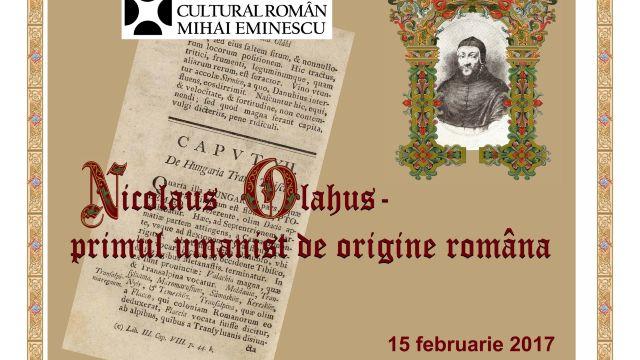 "Expoziţia ""Nicolaus Olahus – primul umanist de origine română"" la Galeria la Rond"