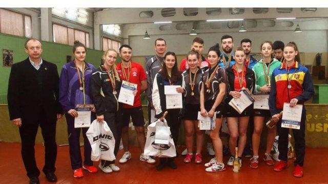 Alexandra Chiriacova și Vladislav Ursu au devenit campioni naționali la tenis de masă