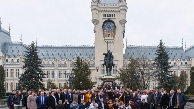 FOTO | Primarii unioniști din Republica Moldova și România au înființat o Ligă comună a aleșilor locali