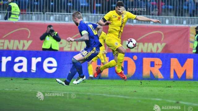 FOTO   România - Suedia 1-0, în meci amical
