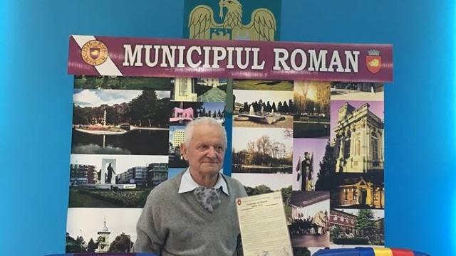 FOTO | VIDEO | Vladimir Beșleagă la Roman: A venit timpul să respectăm istoria și dorința românilor de a fi uniți