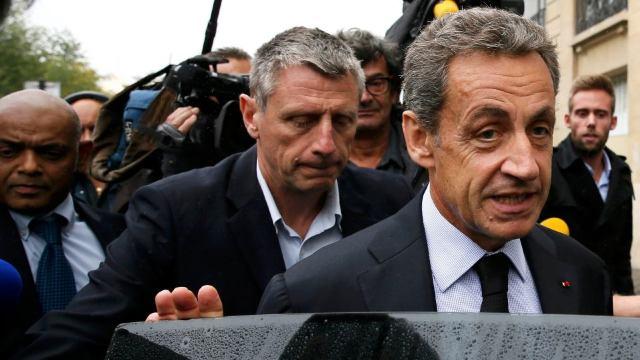 Cea de-a doua zi de audieri în cazul fostului președinte francez Nicolas Sarkozy