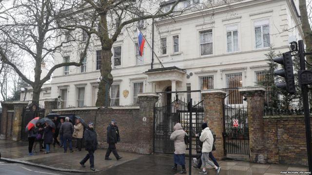 """Moscova consideră decizia Marii Britanii de a expulza diplomații ruși ca fiind """"ostilă"""" și """"inacceptabilă"""""""
