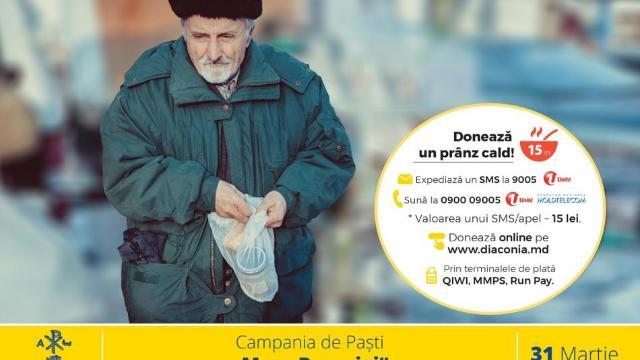 """Misiunea Socială ,,Diaconia""""   Donează produse alimentare în campania """"Masa Bucuriei"""""""