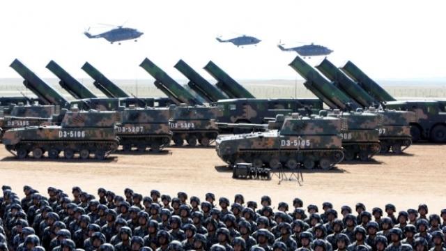 China își va majora bugetul militar