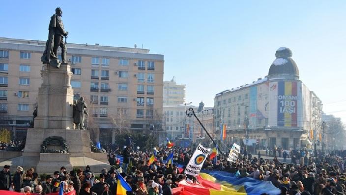După Iași, încă trei orașe importante din România au votat vineri Declarația de Unire cu Republica Moldova