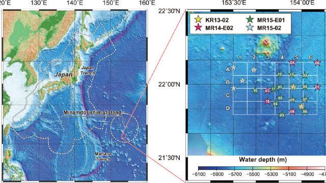 Rezervă de zăcăminte care  ar putea satisface cererea globală câteva secole, descoperită în Oceanul Pacific