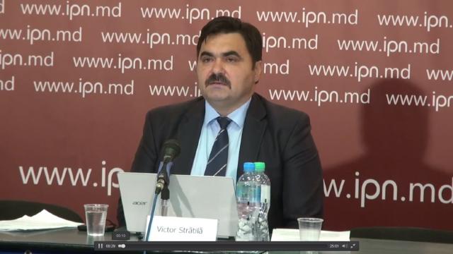 Fostul vicepreședinte al CNI, Victor Strătilă, este candidatul Partidului Verde Ecologist la alegerile din Capitală
