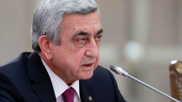 Armenia | Proteste de amploare împotriva numirii ca prim-ministru a fostului preşedinte, Serj Sargsyan (VIDEO)