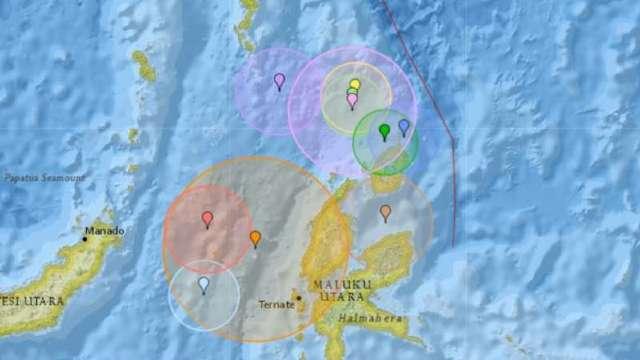 Un seism cu magnitudinea de 5,9 s-a produs în Indonezia