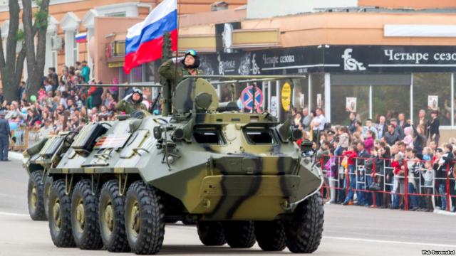 Moscova ignoră, din nou, Chișinăul. Militarii ruși vor defila de 9 Mai la Tiraspol