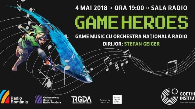 """Concert cu muzică din jocuri video precum """"Super Mario Bros"""" şi """"Angry Birds"""" la București"""