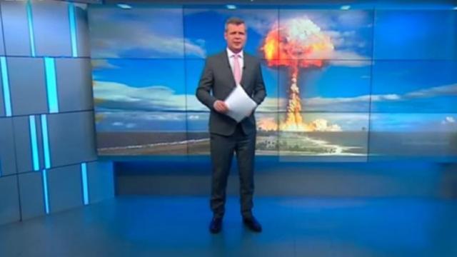 VIDEO   Presa de la Moscova îi sfătuiește pe ruși să facă provizii pentru un război nuclear