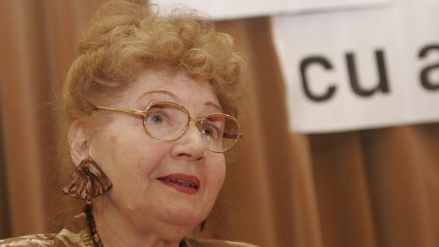 A decedat actrița Carmen Stănescu