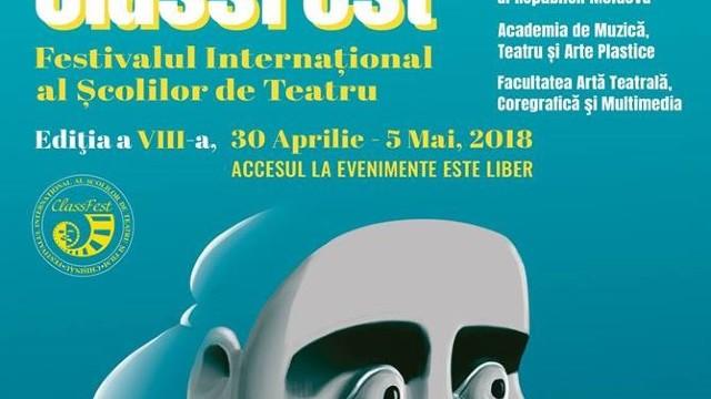 La Chișinău se va desfășura Festivalul Internațional al Școlilor de Teatru