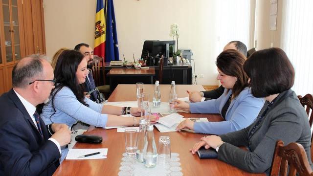 Educația în limba română, subiect de discuții între Cristina Lesnic și Natalia-Elena Intotero