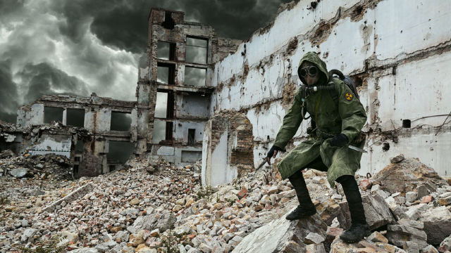Sute de pacienți cu simptome de expunere la substanțe toxice în Douma, după atacul chimic