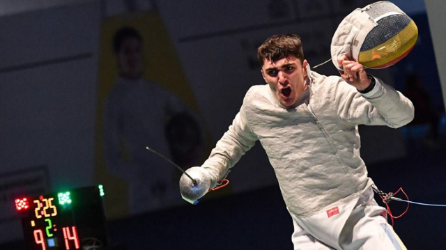 România a luat prima medalie la sabie cadeți din istoria Mondialelor