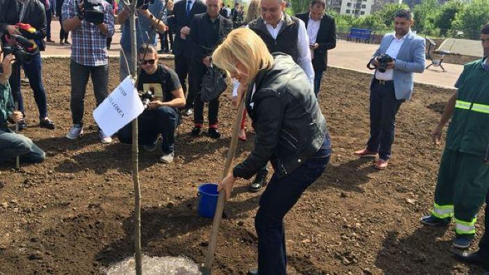 Un parc dedicat Centenarului, inaugurat în București